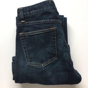 J. Crew Indigo Wash Bootcut Stretch Jeans